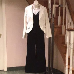 White tuxedo Blazer part of pant suit